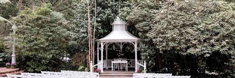 Wedding Reception Venue Dandenongs Melbourne Victoria Lyrebird Falls